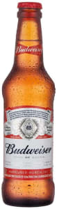 8 Unidades - Cerveja Budweiser Long Neck - 330ml