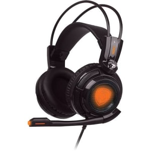 Headset Gamer OEX Extremor Som 7.1 Virtual Surround Smart Vibration HS-400 - Preto