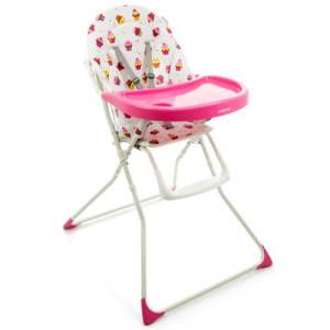 Cadeira para Refeição Cosco Banquet Cupcake - até 23kg - Rosa