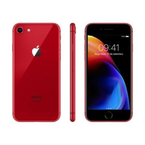 "iPhone 8 Apple RED Special Edition 256GB Tela Retina HD 4.7"" iOS11 Câmera 12MP Vermelho"