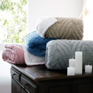Cobertor Queen Sherpa 3D - Casa & Conforto