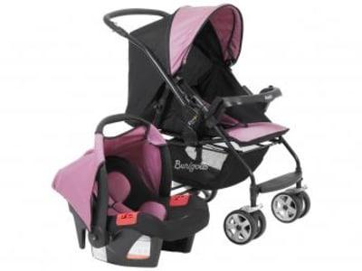 Carrinho de Bebê com Bebê Conforto Burigotto - Travel System Rio K para Crianças até 15kg - Magazine Ofertaesperta