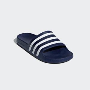 Chinelo Adidas Adilette - Marinho e Branco