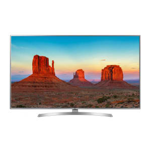 "Smart TV LED 50"" LG 50UK6510PSF Ultra HD 4K 4 HDMI 2 USB Prata com Conversor Digital Integrado"