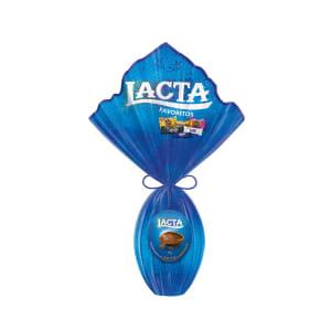 Ovo de Páscoa de Chocolate Lacta Favoritos 614g - Núm. 22