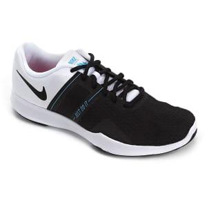 Tênis Nike City Trainer 2 Feminino - Branco e Preto