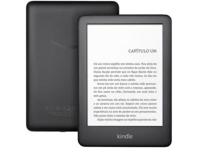 "Kindle 10ª Geração Tela 6"" 8GB Wi-Fi Luz Embutida - Preto - Magazine Ofertaesperta"