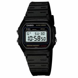 Relógio Masculino Digital Casio W-59-1VQ - Preto