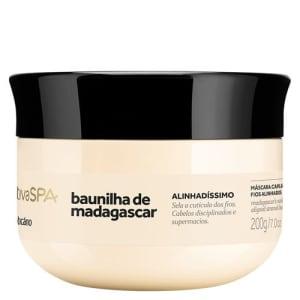 Nativa SPA Baunilha de Madagascar Máscara Capilar para Cabelos Disciplinados, 200g