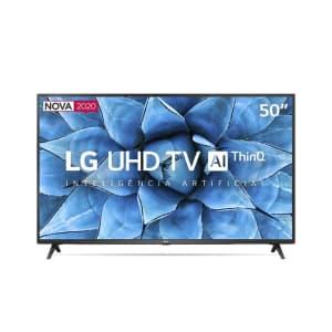"""Smart TV 4K LED 50"""" LG 50UN7310 Wi-Fi Bluetooth 3 HDMI 2 USB - 50UN7310PSC"""