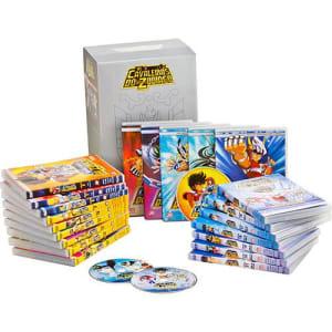Box Exclusivo Cavaleiros do Zodíaco: Saga Clássica Completa - Santuário, Asgard e Poseidon (21 DVDs)
