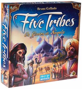 Board Games Five Tribes - Galapagos Jogos