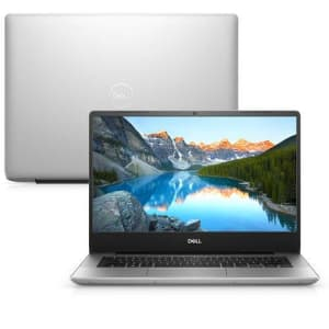 """Notebook Dell Inspiron I14-5480-m40s 8ª Geração Intel Core I7 16GB 1tb+128gb SSD Placa De Vídeo FHD 14"""" Windows 10 Prata Mcafee"""