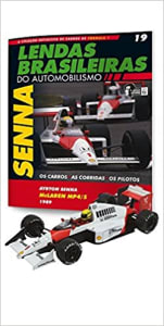 Mclaren Honda Mp4/5. Ayrton Senna - Lendas Brasileiras do Automonilismo