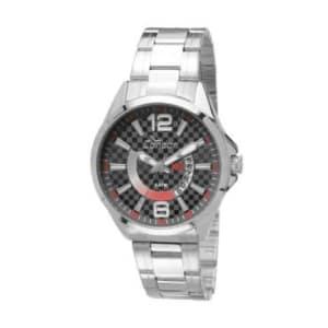 Relógio Masculino Analógico Condor Speed, Pulseira de Aço Prata, Caixa de 4,4 Cm, Resistente à Água - 5 ATM (50 Metros) - CO2115VB/3B