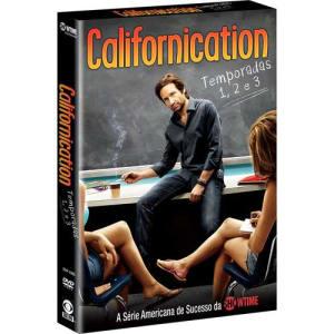 Box DVD Californication - Temporadas 1, 2 e 3 (6 DVDs)