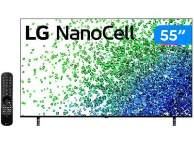 """Confira ➤ Smart TV 55"""" 4K UHD Nanocell LG 55NANO80SPA – 60Hz Wi-Fi e Bluetooth Alexa 4 HDMI 2 USB – Magazine ❤️ Preço em Promoção ou Cupom Promocional de Desconto da Oferta Pode Expirar No Site Oficial ⭐ Comprar Barato é Aqui!"""