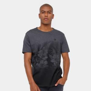 Camiseta Rainha Street Masculina - Chumbo
