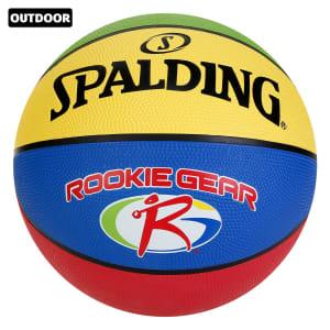 2 Unidades - Bola De Basquete NBA Spalding Rookie Gear Outdoor Jr.