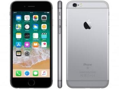 "iPhone 6s Apple 32GB Cinza Espacial 4G Tela 4.7"" - Retina Câm. 12MP + Selfie 5MP iOS 11 Proc. A9 - Magazine Ofertaesperta"