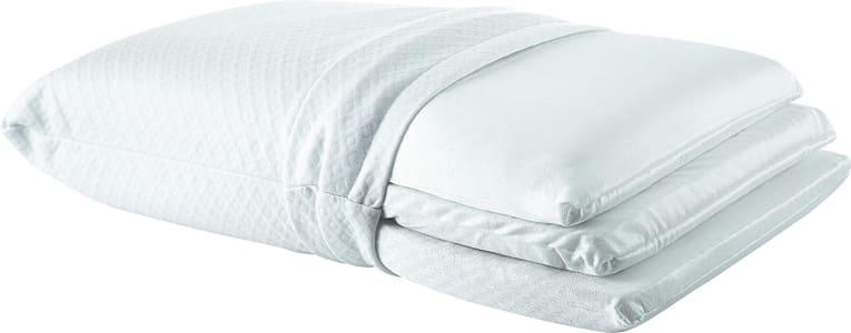 Travesseiro Regulável Visco NASA, Espuma Massageadora e Látex, Personal Sleep, 50x70 cm, Fibrasca