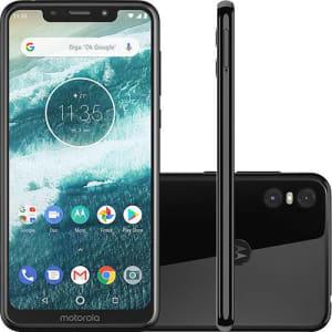 "Smartphone Motorola One 64GB Dual Chip 4GB RAM Tela 5,9"""