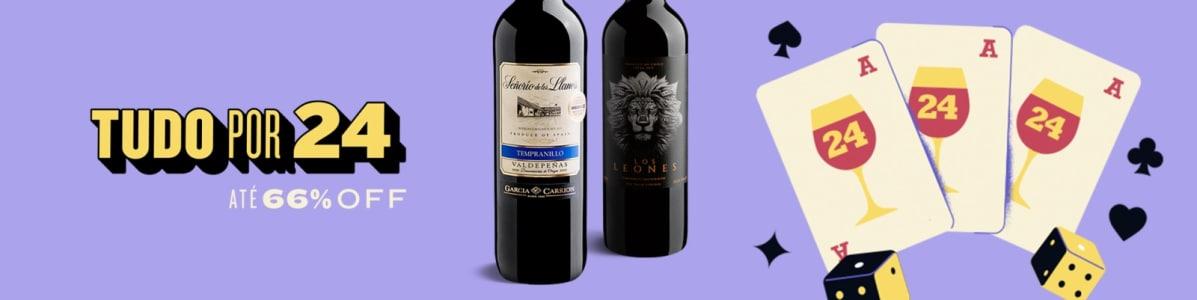 Seleção de Vinhos por 24$