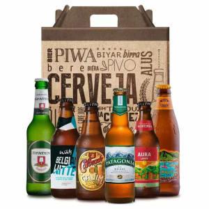 Kit de Presente Cervejas Leves