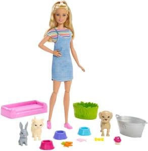 Boneca Barbie Banho de Cachorrinhos FXH11 - Mattel