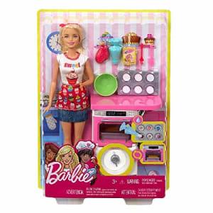 Boneca Barbie Cozinhando E Criando, Mattel, Chef De Bolinhos, Loira