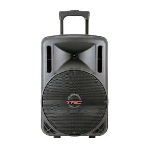 Caixa de Som Amplificada TRC 336 Bluetooth, USB, Entrada para Microfone, Rádio FM e Iluminação 290W