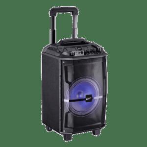 Caixa de Som Leadership Bluetooth 240W RMS com Trolley e Bateria Speaker CX-1482