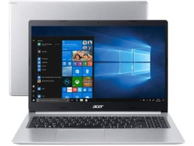 "Notebook Acer Aspire 5 A515-54-59X2 Intel Core i5 - 8GB 512GB SSD 15,6"" Windows 10 - Magazine Ofertaesperta"