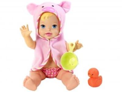Boneca Little Mommy - Momentos do Bebê - Hora do Banho Mattel