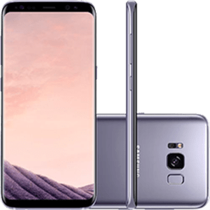 "Smartphone Samsung Galaxy S8 Dual Chip Android 7.0 Tela 5.8"" Octa-Core 2.3GHz 64GB 4G Câmera 12MP - Ametista"