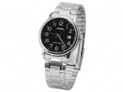 Relógio Masculino Casio Analógico - MTP-V002D-1BUDF - Magazine Ofertaesperta