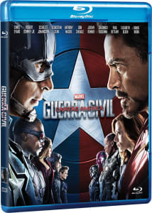 Blu-Ray 3D - Capitão América. Guerra Civil