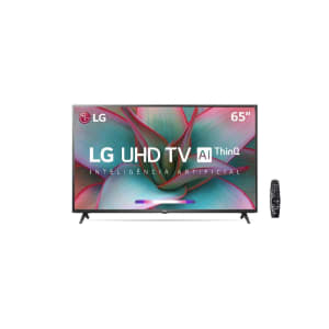 "Smart TV LG 65"" 65un7310 4K UHD Wifi Bluetooth HDR Inteligência Artificial Thinq AI Google Assistente"