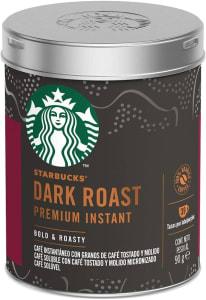 Café Solúvel Starbucks Dark Roast - Lata 90g