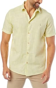 Camisa Fio Tinto Manga Curta Samoa Masculino - Reserva