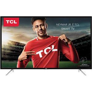 Smart TV LED 49 Semp Toshiba TCL 49S4900 Full HD com Conversor Digital 3 HDMI 2 USB Wi-Fi