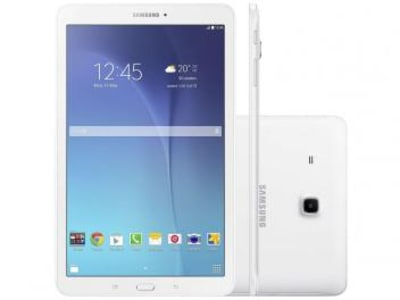 "Tablet Samsung Galaxy Tab E T560 8GB 9,6"" Wi-Fi - Android 4.4 Proc. Quad Core Câm. 5MP + Frontal - Magazine Ofertaesperta"
