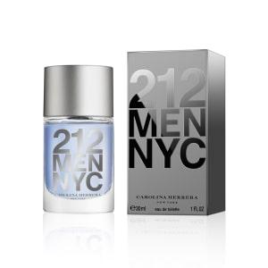 Perfume 212 Men Masculino Carolina Herrera Eau de Toilette 30ml