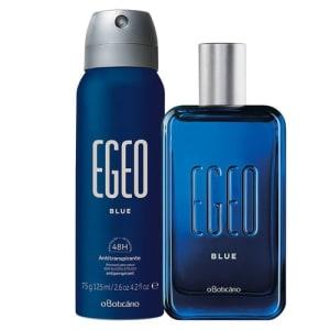 Combo Egeo Blue: Des Colônia + Antitranspirante Aerosol
