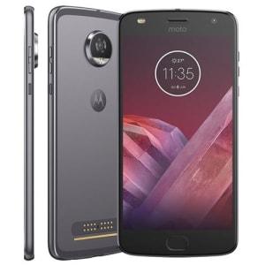 Smartphone Motorola Moto Z2 Play XT1710 Platinum com 64GB, Tela de 5.5'', Dual Chip, Câmera 12MP, Android 7.1, Processador Octa-Core e 4GB de RAM