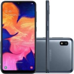 "Samsung Galaxy A10 32GB Dual Chip Android 9.0 Tela 6.2"" Octa-Core 4G Câmera 13MP - Preto - Magazine Ofertaesperta"