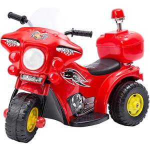 Mini Moto Elétrica Infantil Vermelha - brink+