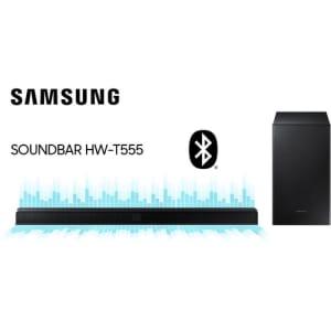 Soundbar Samsung Hw-t555 2.1 Canais Subwoofer Wireless Bluetooth HDMI - 320w