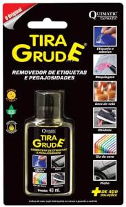 Tira Grude Removedor de Etiquetas e Pegajosidades 40 mL