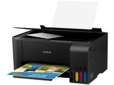 Impressora Multifuncional Epson EcoTank L3150 - Tanque de Tinta Wi-Fi Colorida USB - Magazine Ofertaesperta